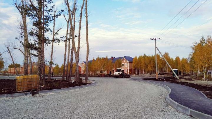 В городе начали строить новый квартал: темпы строительства поражают — уже оформляют парк отдыха