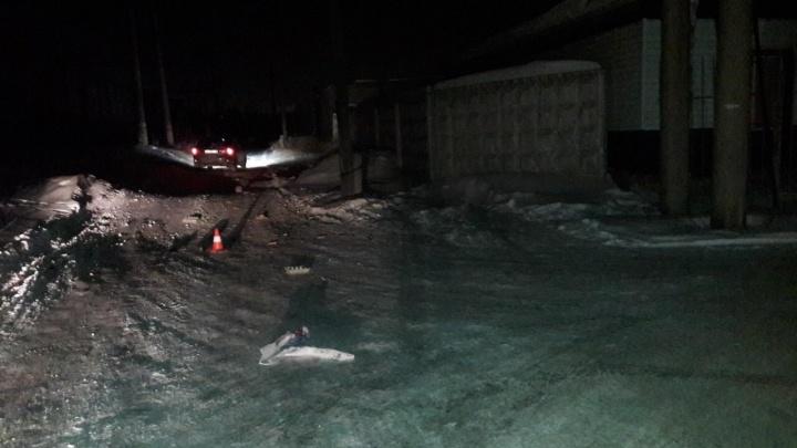 В Кургане пьяный водитель сбил пешехода на ночной дороге