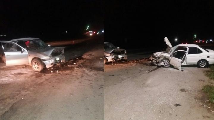 В полиции рассказали подробности встречного ДТП на Ордынской трассе