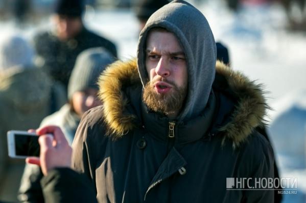 Задержанного Герасима Артемьева отпустили домой под подписку