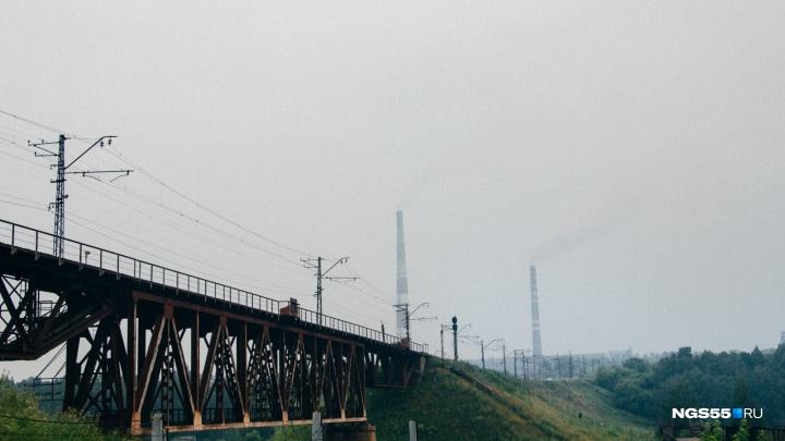 Дым продержится в Омске до конца рабочей недели