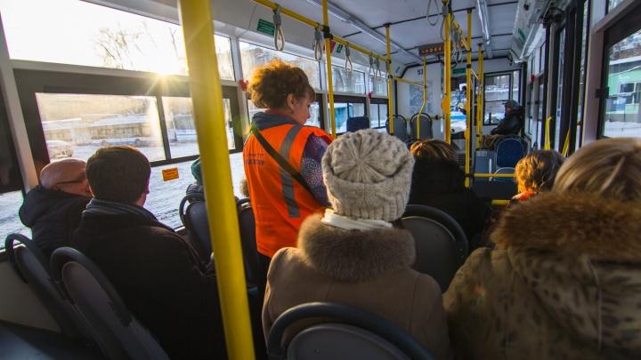 Низкопольный с двумя дверьми: в Самаре начали тестировать автобус на метане