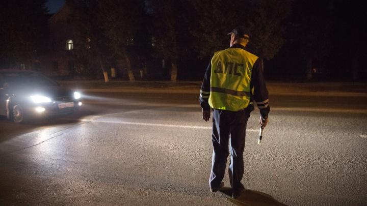 ГИБДД предупредила об облавах на пьяных водителей