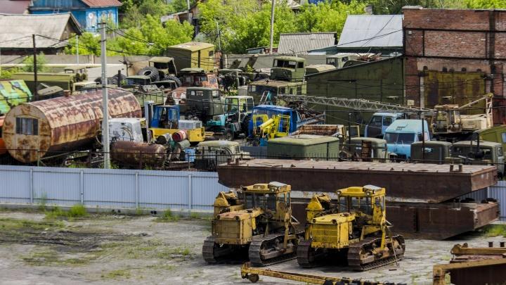 Полицию отправят искать боеприпасы в пунктах приёма металлолома