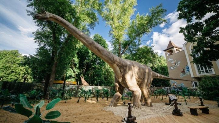 В центре Уфы появится огромный парк динозавров
