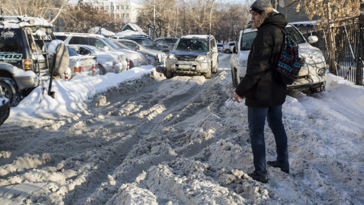 Новосибирцы стали реже попадать в аварии на заснеженных дорогах