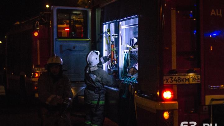 В Смышляевке в собственном BMW сгорел мужчина