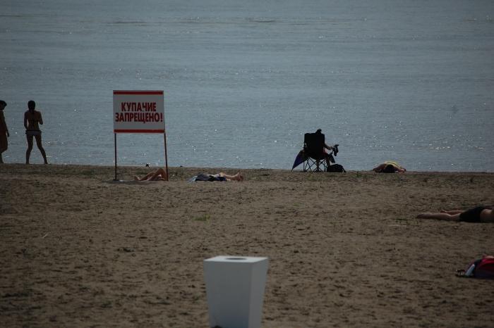 Спасатели предупредили об опасности купания во время грозы