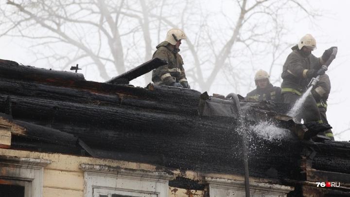 Во время пожара в Ростове у 90-летнего дедушки сгорели зубы и все вещи