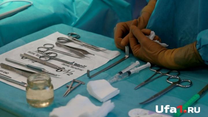 В Уфе молодая мама попала в реанимацию после родов