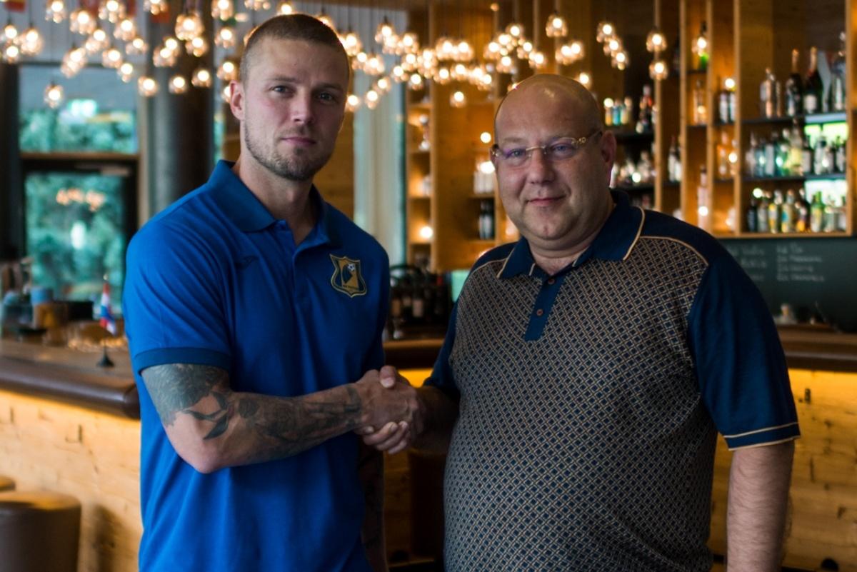 Рагнар Сигурдссон подписал с нашей командой двухлетний контракт