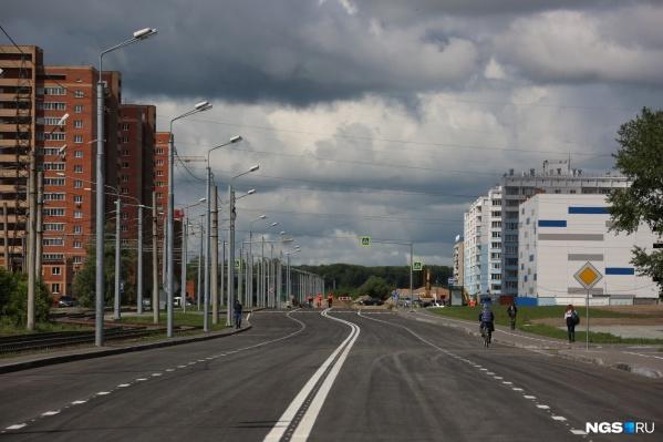 В июне мэриязаказала продолжение строительства улицы Титова от улицы Заозёрной до улицы Порт-Артурской