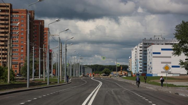 Новую дорогу на улице Титова начнут строить в конце августа