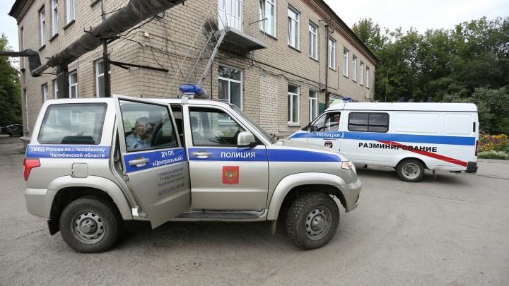 Станцию скорой помощи в центре Челябинска оцепили из-за гранаты