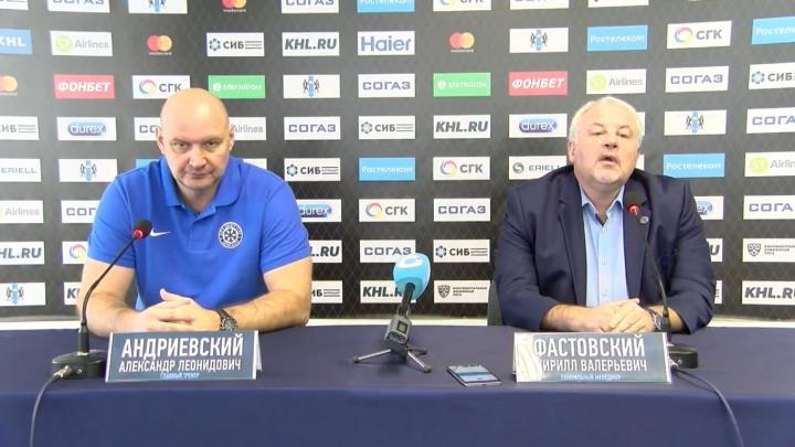«Психология сломлена»: руководство ХК «Сибирь» рассказало о планах клуба после серии поражений