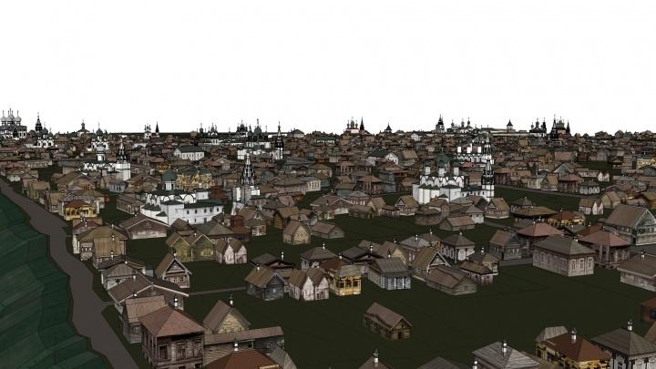 История в 3D: в центре Ярославля воссоздадут дореволюционный город