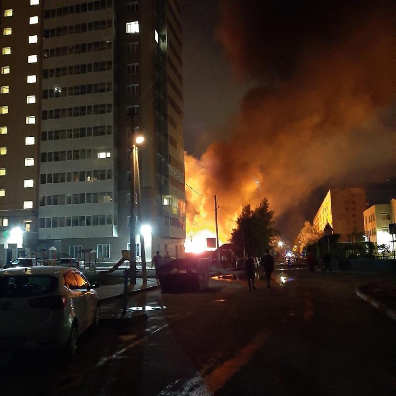 Пожарные работали на мест происшествия 5 с половиной часов