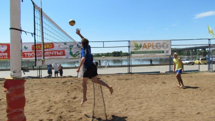 Уфимцев приглашают на пляжный волейбол