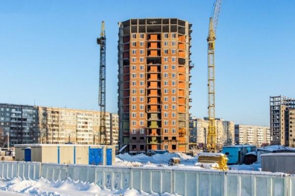 Строительство дома началось в 2013 году