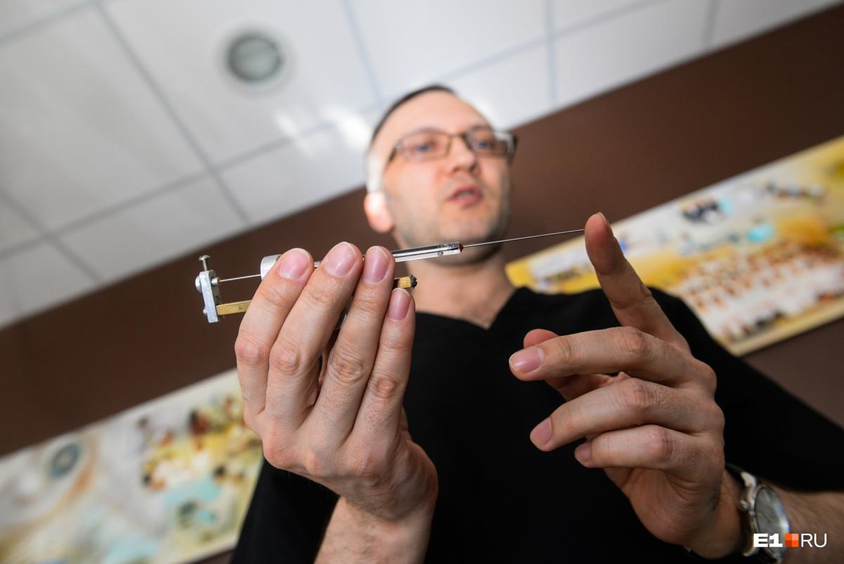 Микрошприц Терасаки — один из элементов микротехники, которую в 1963 году придумал американец японского происхождения Пол Терасаки. Один шаг этого шприца — 1 микролитр, едва различимая капля. Нужен для проведения иммунологических реакций при лабораторных исследованиях
