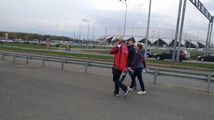Около стадиона «Самара Арена» перекроют движение 22, 23 и 24 мая