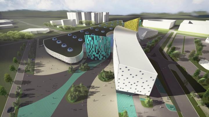Выбран первый приоритетный эскиз аквапарка у «Арены.Север»