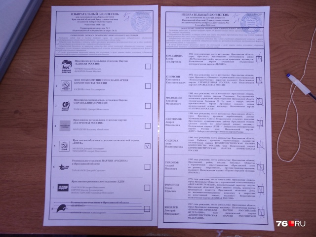 В Ярославской области большое доверие многие избиратели оказали КПРФ
