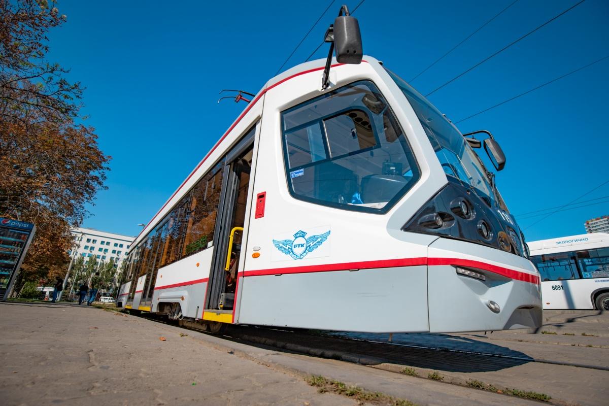 Сейчас трамваи ходят по пяти городским маршрутам