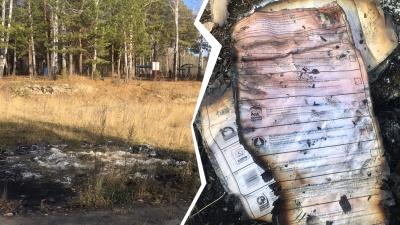 В лесу в Тюмени найдены залежи полусгоревших избирательных бюллетеней