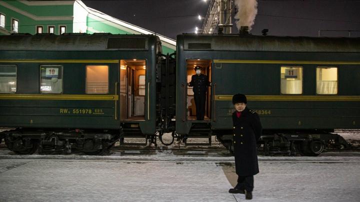 Поезда из Северной Кореи через Новосибирск отменили из-за коронавируса