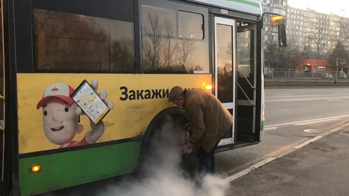 «Будет только хуже»: в Ярославле эвакуировали пассажиров из дымящегося автобуса