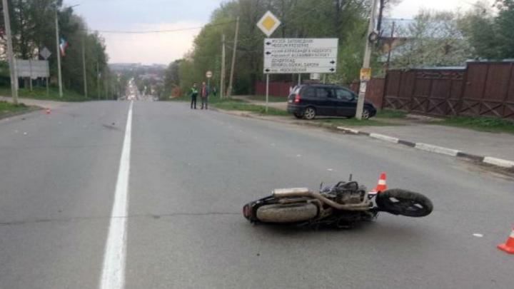 В Ярославской области насмерть разбился мотоциклист