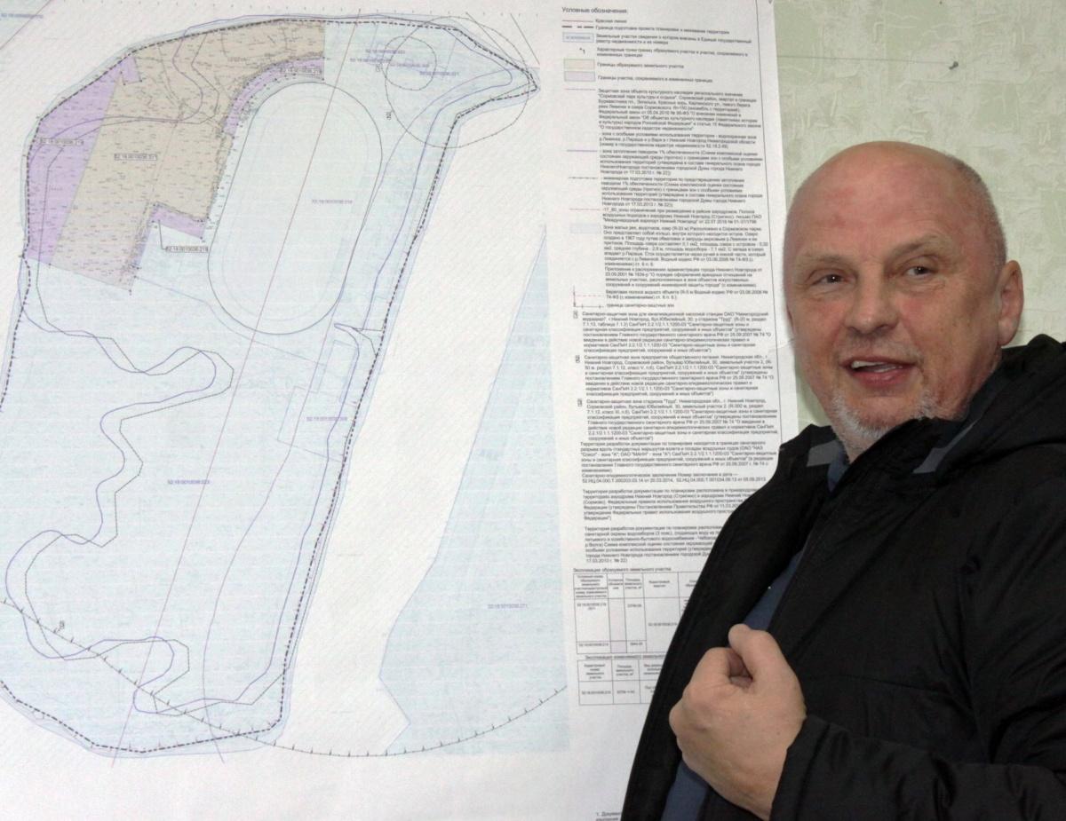 Проектпланировки и межевания территории Сормовского парка по улице Энгельса в Сормовском районе