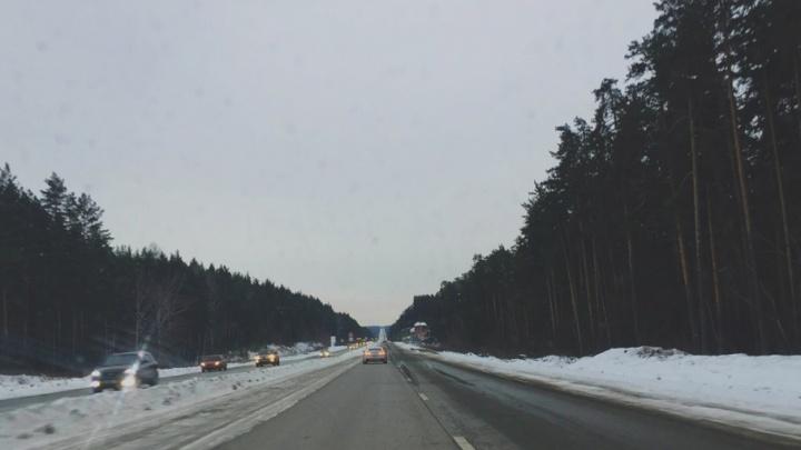 Скоростной режим и реверс: на трассе «Иртыш» ограничат движение