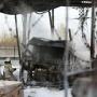 Столб дыма был виден из всех точек города: пожарные потушили бензовоз на челябинской нефтебазе