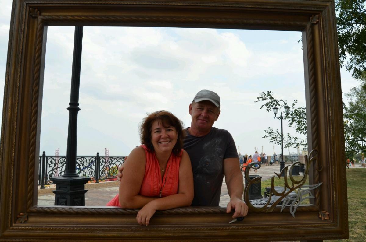 Светлана и Олег летом 2016 года