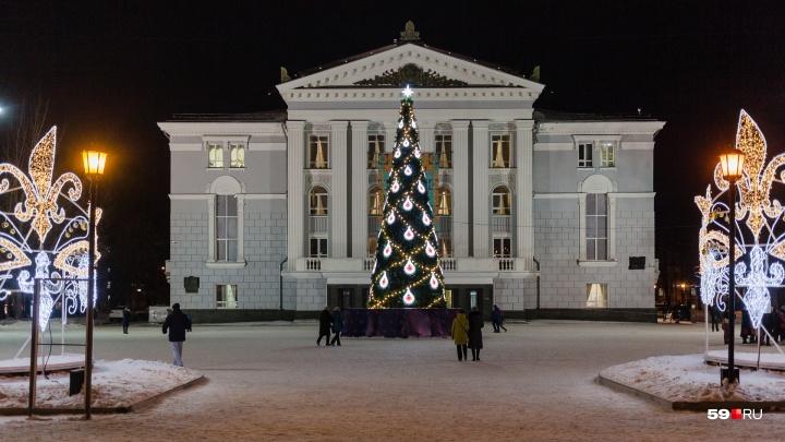 В новогодние каникулы в Перми заработают шесть зон обогрева. Карта