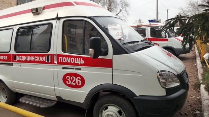Баллон с газом взорвался в движущейся «Королле»: пострадали отец и двое детей