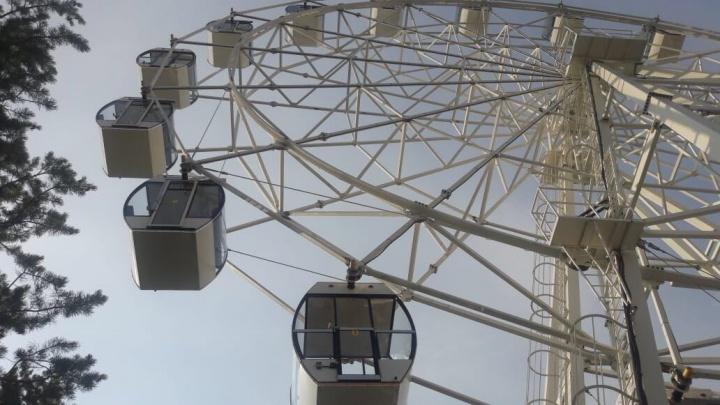 Жителям Самары предложили выбрать название для нового колеса обозрения в парке Гагарина
