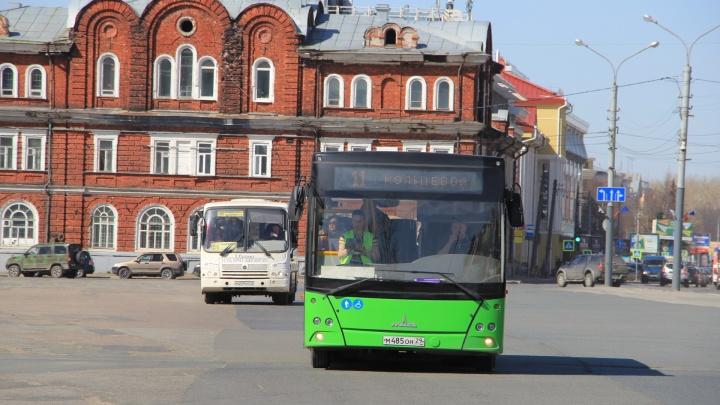 Архангельский перевозчик предлагает поднять стоимость проезда в автобусах до 36 рублей