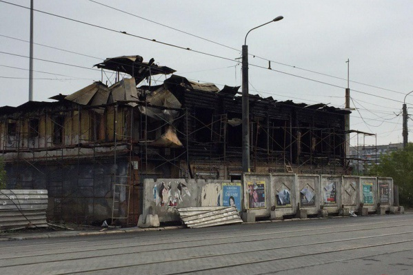 Дом Пчелина на улице Труда сгорел в ночь на 10 августа
