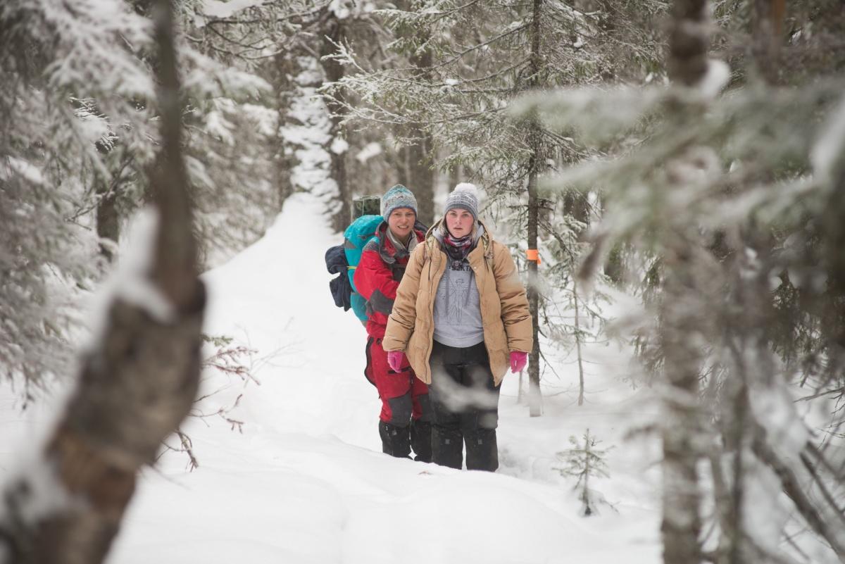 «Связь поймали один раз за 5 часов»: как мы шли по маршруту пропавших на севере Урала туристок