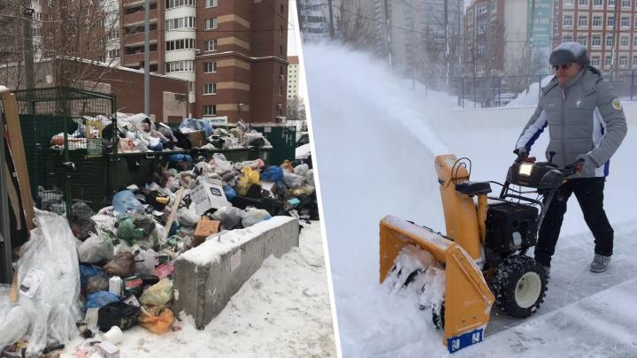 Потеряли поздравление Азарова и утонули в мусоре со снегом: как мы пережили новогодние праздники