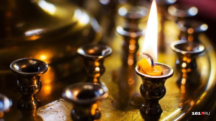 Благодатный огонь на Пасху прибудет в Ростовскую область