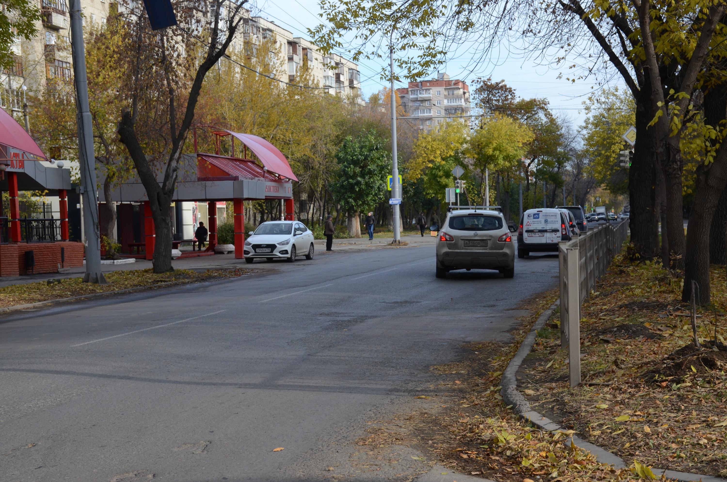 Остановка «Библиотека» на улице Ильича тоже осталась без знаков 5.16