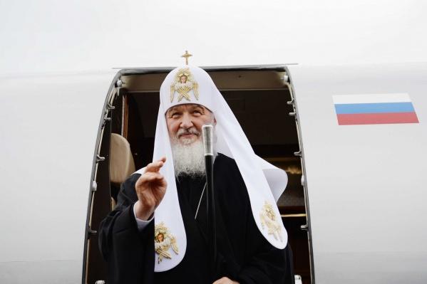 Кирилл стал патриархом в 2009 году