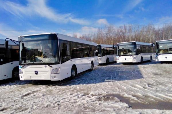 Новые ЛИАЗы рассчитаны на 75 пассажиров