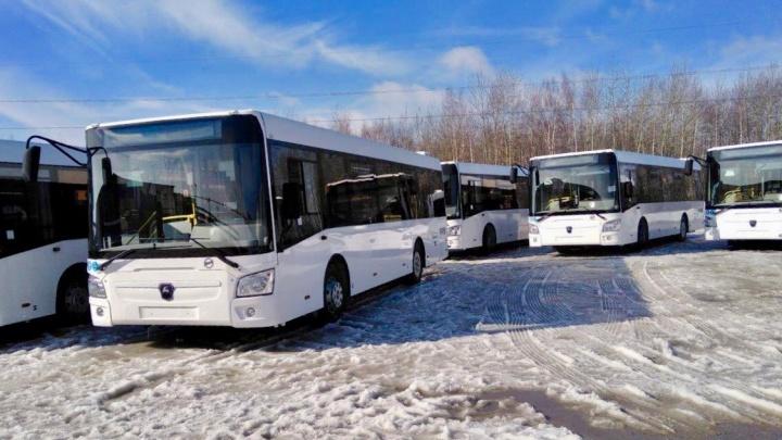 Муниципальные перевозчики получили 74 новых автобуса и выводят их на линии в апреле