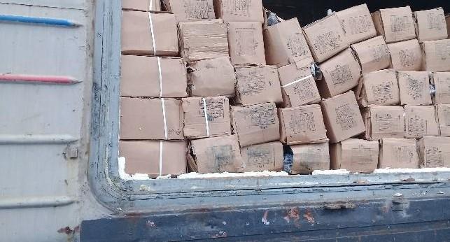 ФСБ задержала 53 тонны мяса и рыбы, которые привезли в Екатеринбург под видом сока