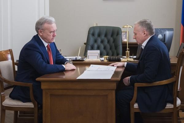 Врио губернатора Усс подписал схему газификации
